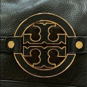 Beautiful Black Leather Tory Burch Purse